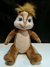 """BRITTANY CHIPPETTE ALVIN AND THE CHIPMUNKS BUILD-A-BEAR STUFFED PLUSH TOY 14"""""""