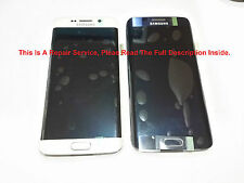 Samsung Galaxy S6 Edge LCD Screen Digitizer Glass Repair Service OEM Parts Only