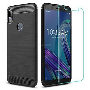 Cover for Asus Zenfone Max Pro M1 ZB601KL ZB602KL Original Case Carbon Case