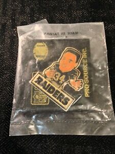Bo Jackson #34 Raiders NFL Pro Source Pin NEW