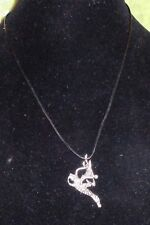 NECKLACE WITH A FLYING DRAGON PENDANT