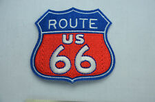 US ROUTE 66 STATE STONES HIGHWAY 7cm  Embroidered Sew Iron On Cloth Patch Badge