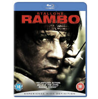 Rambo Blu-Ray (2008) Sylvester Stallone cert 18 Expertly Refurbished Product