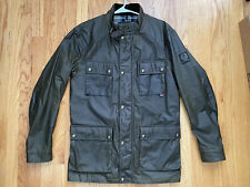 Belstaff Waxed Cotton Roadmaster Jacket Sz. 54 (XL) Green