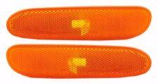 Pair NEW Front Side Marker Light Lamp Lens RH&LH for 2000-2005 Dodge Neon