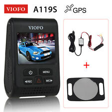 """New listing Viofo A119S Capacitor Novatek 96660 2.0"""" Gps Car Dashcam Camera+Hard Wire +Cpl"""