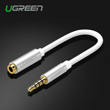 Ugreen Audio Cable Extension Adapter Connecter 3.5mm Jack Male to Female Lead