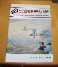 CROSS & COCKADE GREAT BRITAIN JOURNAL VOL 30 No 3  1999 GERMAN AIRSHIPS 8 TDS