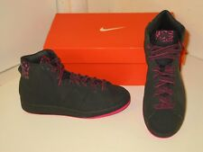 Nike Recognition High Basketball Athletic Casual Black Sneakers Shoes Womens 6.5
