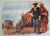 """Buffalo Soldier Art Print """"Buffalo Soldier, 10th Cavalry"""" (S/N LImited Edition)"""
