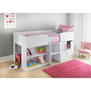Clifton Kids Storage Cabin Bed Sleeping Storage Den Child's Bedroom Furniture