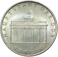 Gedenkmünze DDR - 5 Mark 1971 - Brandenburger Tor - Stempelglanz UNC