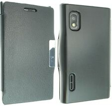 Per LG L5 OPTIMUS E610 LUSSO pelle Custodia Cover Flip Custodia Retro Pelle Nuove