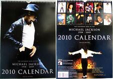 Michael Jackson Calendrier 2010 Calendar Kalender Poster Posters OFFICIAL