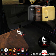 2x Wireless Car Door The Joker Why So Serious LED Laser Projector Shadow Light