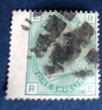 Grande Bretagne N° 24 ,1 S Vert Oblitéré TB Qualité Cote 175€