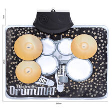 Electronic Music Play Mat Musical Mini Drum Children Kids Novelty Xmas Gift