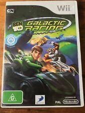 BEN 10 GALACTIC RACING NINTENDO Wii ORIGINAL AUS PAL VGC No Manual