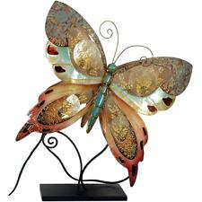 Metall Figur - Schmetterling Lampe - Tischlampe Nachttischlampe - Neuheit 2017