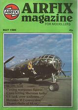 AIRFIX MAI 1980 CASTING WARGAMES FIGURES/CROSS-KITTING SHERMAN TANKS/HERCULES