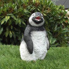 Gartenfigur Pinguin 311420 Haus Garten Deko lebensecht Figur