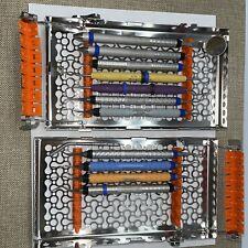 Hu Friedy Dental Hygiene Instruments Double Decker Cassette Scalers Curettes
