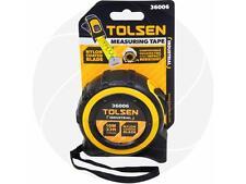 Tolsen 10M 33FT Nylon Coated Heavy Duty Measure Measuring Tape Metric & Imperial