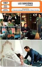 FICHE CINEMA : LES SORCIERES - Mangano,Girardot,Rabal,Visconti 1967 The Witches