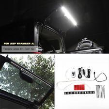 LED Light Bar Rear Tailgate Glass Gate Hatch Lamp For 07-18 Jeep Wrangler JL JK