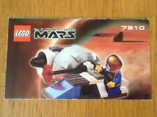 Lego Life On Mars 7310 Mono Jet from 2001 - instructions only