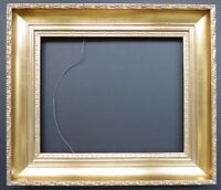 """Gilded antique reproduction frame for 13"""" by 16"""""""