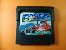 °!°/ Jeu Sega Game gear - SUPER MONACO GP - loose
