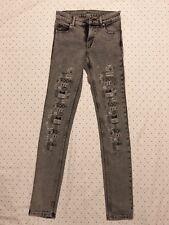 Cheap Monday womens Tight Grey Jeans 24x32