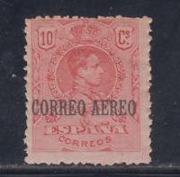 ESPAÑA (1920) NUEVO CON FIJASELLOS MLH - EDIFIL 293 (10 cts) ALFONSO XIII LOTE 1
