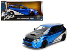 "Brian's Subaru Impreza WRX STI ""Fast & Furious"" Movie 1/24 Diecast Model Car by"