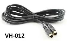 12ft S-Video (S-VHS) MiniDin 4-Pin Male/Male Cable, CablesOnline VH-012