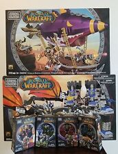 Mega Bloks World of Warcraft 6 sets: Deathwing, Goblin Zeppelin, 91016, 91014