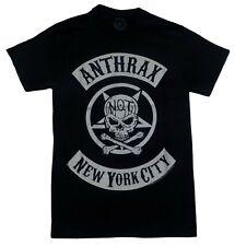 Short Sleeve T shirt, Anthrax, Small, Band shirt Music, Black, metal, New York