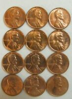 1960 PD Small Date Lincoln Memorial Pennies Cents with issues Uncirculated