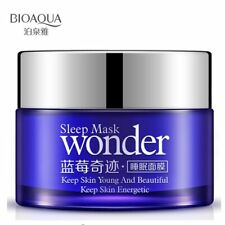 BIOAQUA Wonder Natural Blueberry Sleeping Mask for Acne Winter Bright Skin