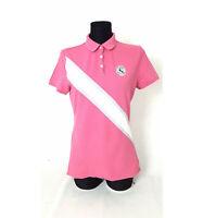 TOMMY HILFIGER Polo-Shirt Pink  Gr. M Damen Original