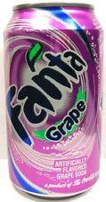 FULL New 12 Ounce Can Coca-Cola's Fanta Grape USA 2008 American