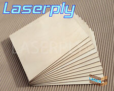 4mm Birch PLywood sheets from A4,  Laserply, cnc, craft, lasers Pyrography, FSC