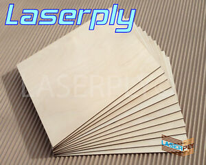Birch PLywood sheets from A4, 3mm or 6mm Laserply craft, Laser, Pyrography, FSC