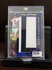 Joe Kelly Letter Patch 3/5 Red Sox Ebay 1/1 Non Auto 2008 USA Baseball Rare