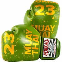 YOKKAO Urban green boxing gloves Muay Thai Kick Boxe