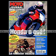 MOTO JOURNAL N°1272 YAMAHA TD1 TD2 TZ 250 500 700 KAWASAKI ZRX 1100 HUBERT RIGAL
