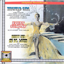 Ziegfeld Girl/Every Sunday/Meet Me in St. Louis by Original Soundtrack (CD, Mar-