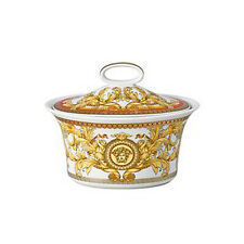 """VERSACE  BY ROSENTHAL, GERMANY  """"ASIAN DREAM."""" SUGAR BOWL, COVERED."""