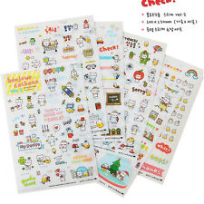 Creative Stickers Korea Stationery Cat Decoration for Diary Notebook  9.5 * 15cm